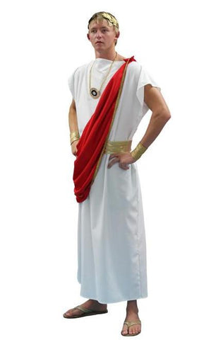 Roman Senator (Red) in Theatrical Costumes from BuffaloBreath at Buffalo Breath Costumes