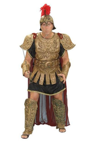 Deluxe Caesar armor costume at Buffalo Breath Costumes in San Diego