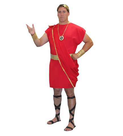 Toga (red) in Theatrical Costumes from BuffaloBreath at Buffalo Breath Costumes