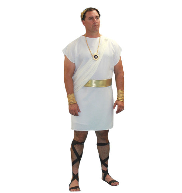 Toga (white) in Theatrical Costumes from BuffaloBreath at Buffalo Breath Costumes