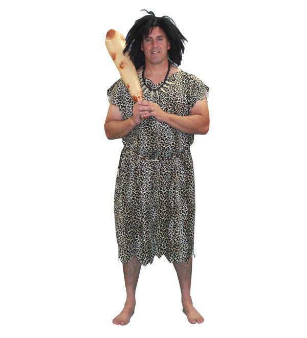 Leopard Print Caveman- XL in Theatrical Costumes from BuffaloBreath at Buffalo Breath Costumes