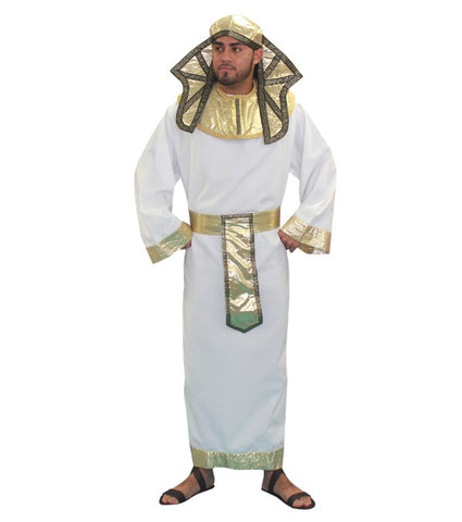 Pharaoh (long white) in Theatrical Costumes from BuffaloBreath at Buffalo Breath Costumes
