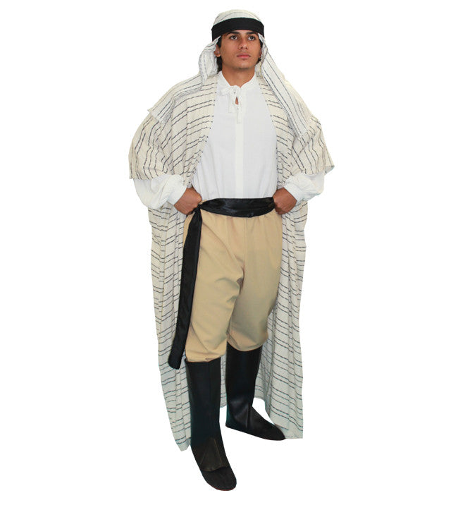 Classic Lawrence Of Arabia in Theatrical Costumes from BuffaloBreath at Buffalo Breath Costumes