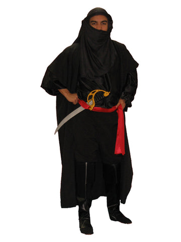 Sheik (warrior) Arabian Nights theme costume rental or purchase at Buffalo Breath Costumes