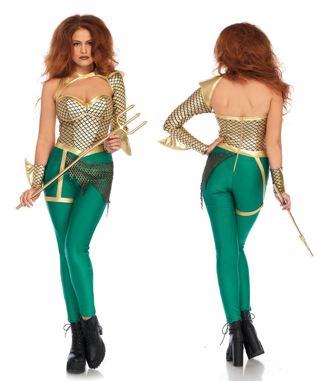 Aqua Warrior costume by Leg Avenue 86686 at Buffalo Breath Costumes