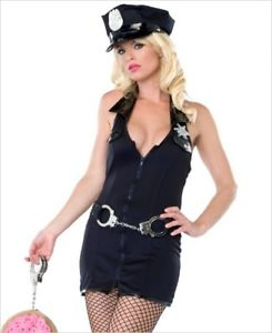 Armed and Dangerous sexy cop costume by Leg Avenue at Buffalo Breath Costumes