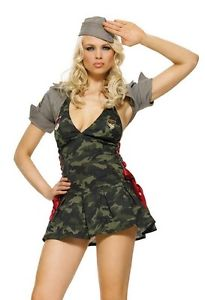 Army Cadet sexy military costume by Leg Avenue at Buffalo Breath Costumes