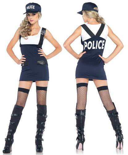 Arresting Officer sexy cop costume by Leg Avenue at Buffalo Breath Costumes
