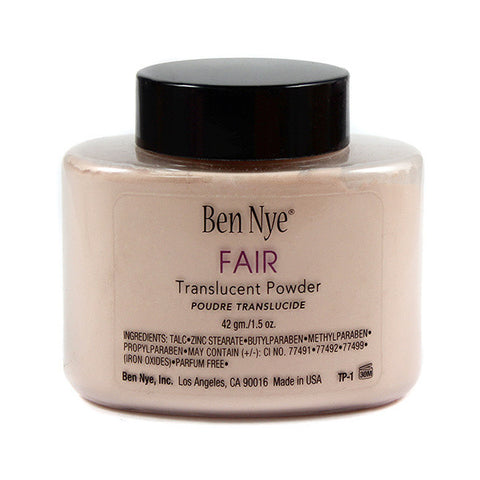 Ben Nye Fair Translucent Face Powder in Makeup from BEN NYE at Buffalo Breath Costumes - 2