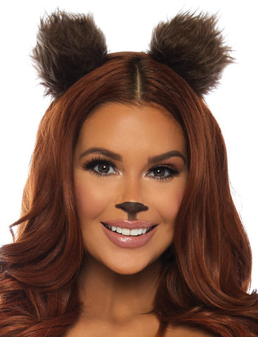 Bear Ear Headband accessory by Leg Avenue A2841 at Buffalo Breath Costumes
