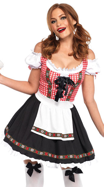 Beer Garden Babe oktoberfest costume by Leg Avenue 86746 at Buffalo Breath Costumes