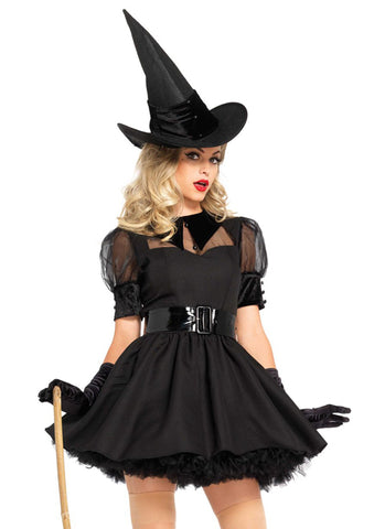 Bewitching Witch costume by Leg Avenue 85238 at Buffalo Breath Costumes
