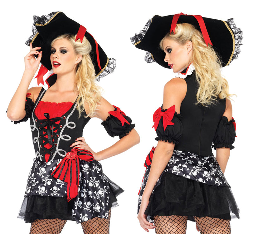 Buccaneer Babe pirate costume by Leg Avenue 85209 at Buffalo Breath Costumes