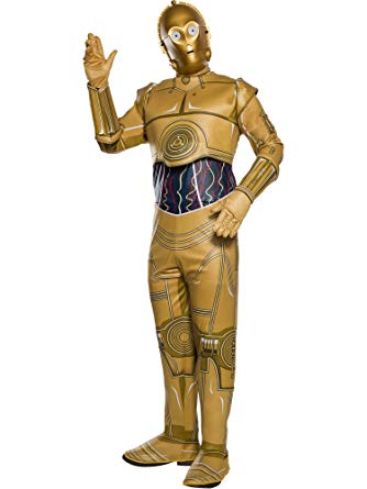 Star Wars C-3PO costume by Rubie's at Buffalo Breath Costumes