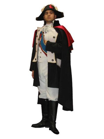 Napoleon French General deluxe costume rental or purchase at Buffalo Breath Costumes in San Diego
