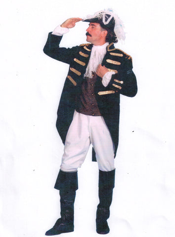 The Admiral costume rental from Buffalo Breath Costumes