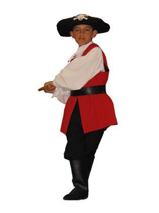 Pirate boy (child) in Theatrical Costumes from BuffaloBreath at Buffalo Breath Costumes
