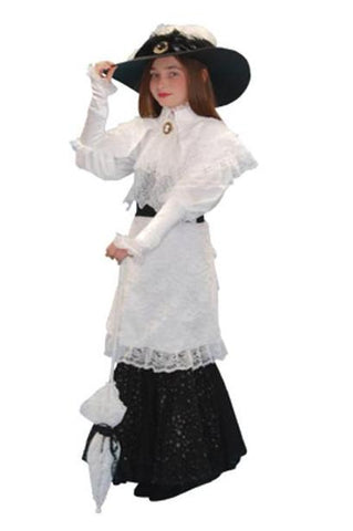 My Fair Lady (child blk/wht) in Theatrical Costumes from BuffaloBreath at Buffalo Breath Costumes