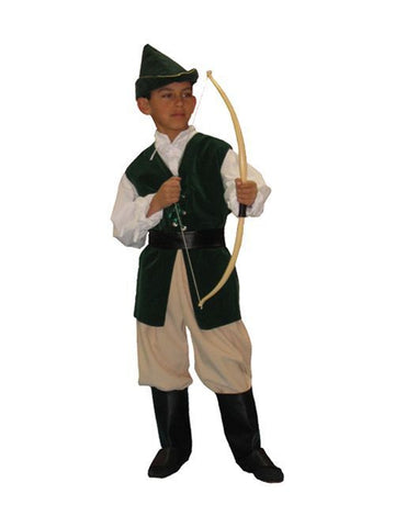 Robin Hood (child) in Theatrical Costumes from BuffaloBreath at Buffalo Breath Costumes