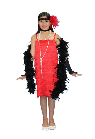 Flapper Child in Theatrical Costumes from BuffaloBreath at Buffalo Breath Costumes