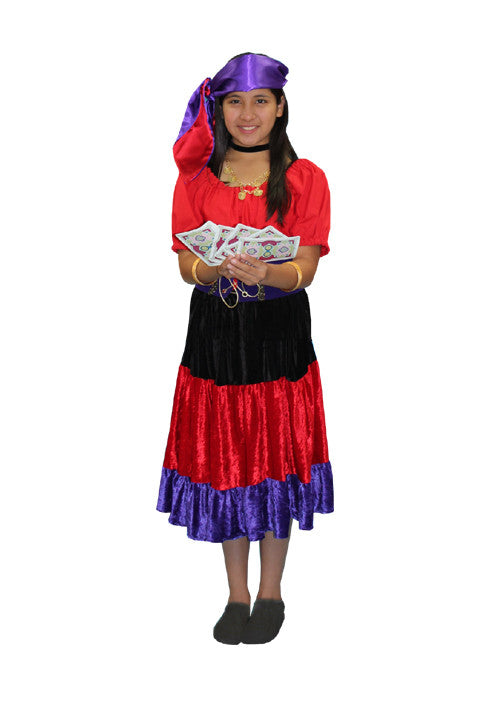 Gypsy Child costume rental at Buffalo Breath Costumes in San Diego  sc 1 st  Buffalo Breath Costumes : gypsy kid costume  - Germanpascual.Com