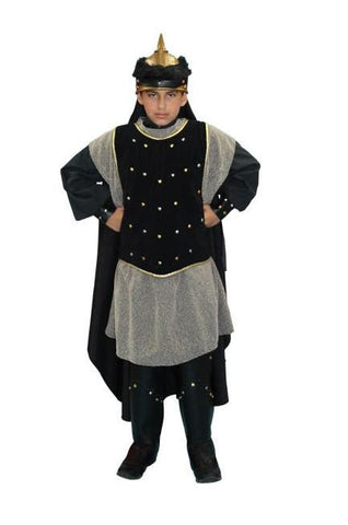 Ghengis Khan Child in Theatrical Costumes from BuffaloBreath at Buffalo Breath Costumes