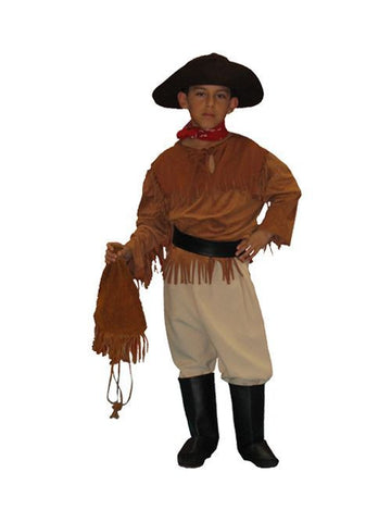 Gold Miner 49er gold rush boys costume rental at Buffalo Breath Costumes