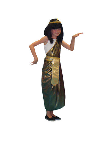 Cleopatra child size costume rental from Buffalo Breath Costumes