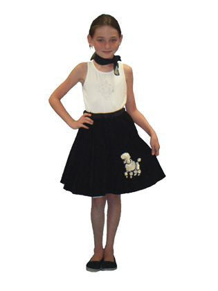 Poodle skirt (child) partials