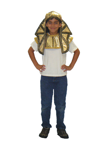 Egyptian Pharaoh child partial costume rental at Buffalo Breath Costumes in San Diego