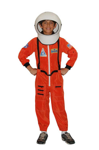 Astronaut Child- Orange in Theatrical Costumes from BuffaloBreath at Buffalo Breath Costumes