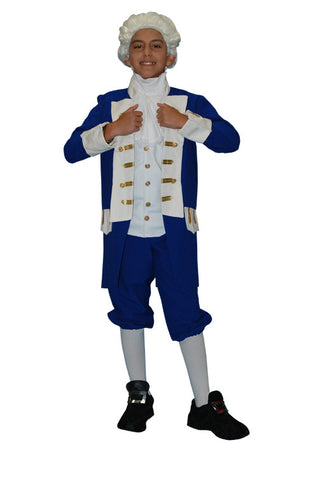 Military Admiral Child in Theatrical Costumes from BuffaloBreath at Buffalo Breath Costumes