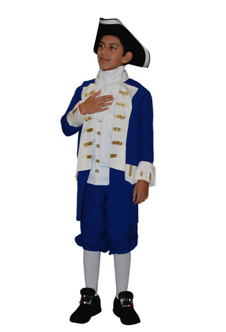 Captain Bligh Child- Blue in Theatrical Costumes from BuffaloBreath at Buffalo Breath Costumes