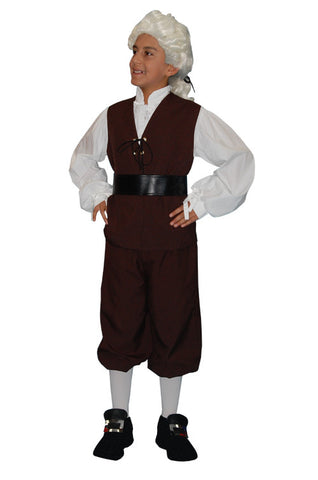 Alexander Hamilton Child in Theatrical Costumes from BuffaloBreath at Buffalo Breath Costumes