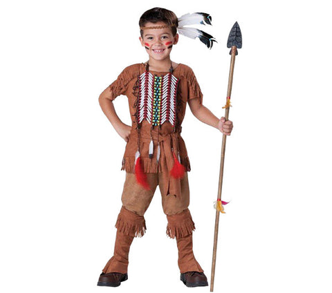 Indian Brave child costume rental or purchase at Buffalo Breath Costumes