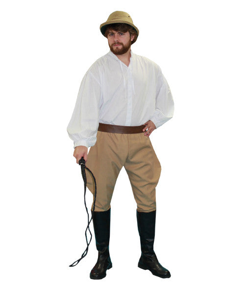 Circus Lion Tamer Male in Theatrical Costumes from BuffaloBreath at Buffalo Breath Costumes