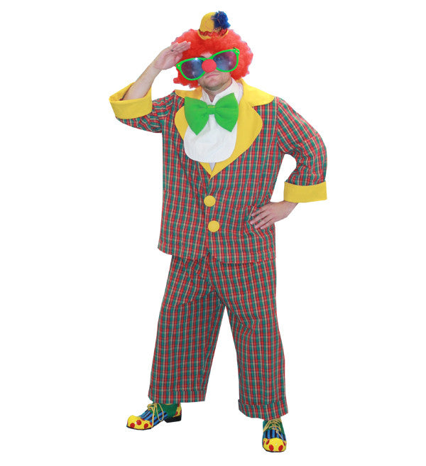 Clown- Plaid Suit in Theatrical Costumes from BuffaloBreath at Buffalo Breath Costumes