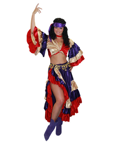 Carnival Gypsy costume rental at Buffalo Breath Costumes in San Diego