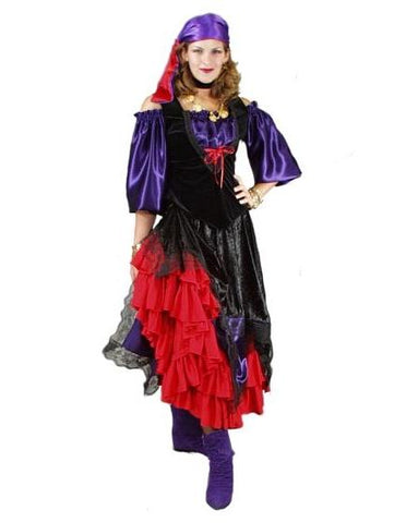 Gypsy deluxe costume rental or purchase at Buffalo Breath Costumes