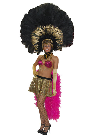 Las Vegas Showgirl costume rental at Buffalo Breath Costumes in San Diego