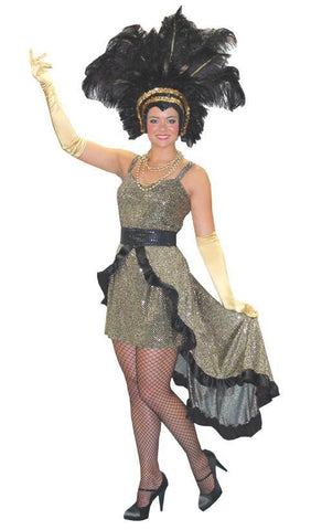 Showgirl/Magician's Assistant in Theatrical Costumes from BuffaloBreath at Buffalo Breath Costumes
