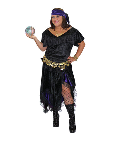 Gypsy Fortune Teller costume rental at Buffalo Breath Costumes in San Diego