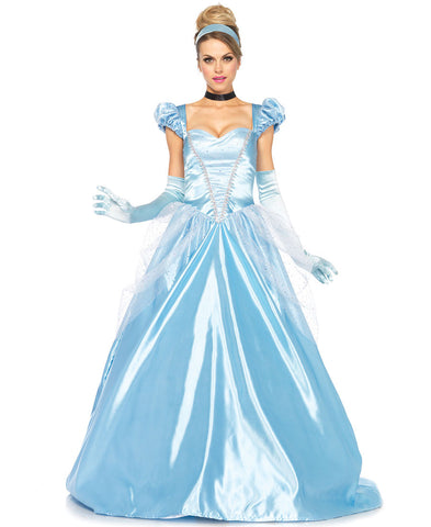 Classic Cinderella costume dress by Leg Avenue 85518 at Buffalo Breath Costumes