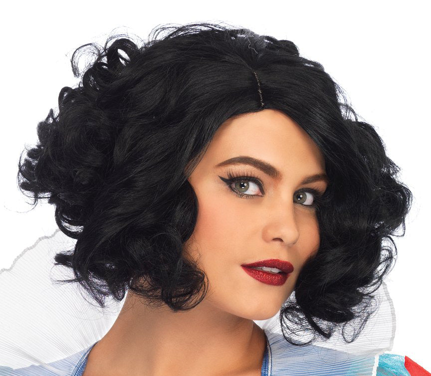 Curly Bob Wig by Leg Avenue #A2780 at Buffalo Breath Costumes