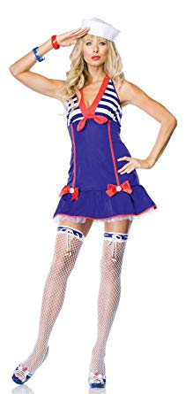 Darling Deckhand sexy sailor costume by Leg Avenue 83517 at Buffalo Breath Costumes