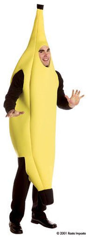 Banana fruit mascot costume by Rasta Imposta #7102 at Buffalo Breath Costumes in San Diego