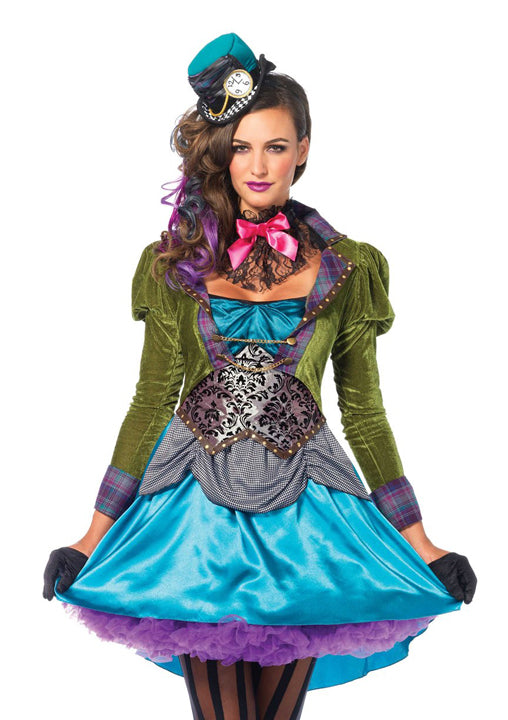 Deluxe Mad Hatter costume by Leg Avenue 85505 at Buffalo Breath Costumes in San Diego