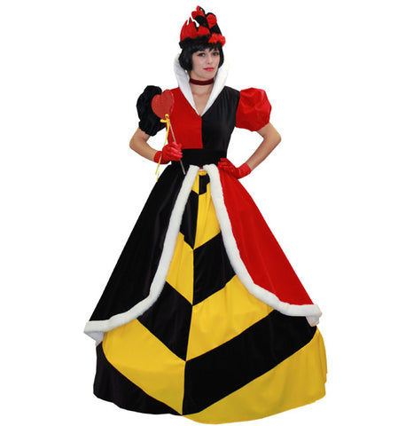 Queen Of Hearts in Theatrical Costumes from BuffaloBreath at Buffalo Breath Costumes