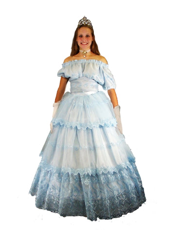 Cinderella costume rental at Buffalo Breath Costumes in San Diego