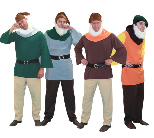 Snow White's Dwarfs (each) in Theatrical Costumes from BuffaloBreath at Buffalo Breath Costumes